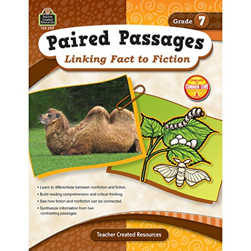 9781420629170: Paired Passages: Linking Fact to Fiction Grade 7