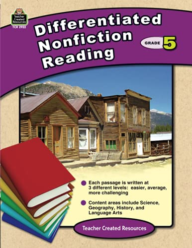 9781420629224: Differentiated Nonfiction Reading Grade 5