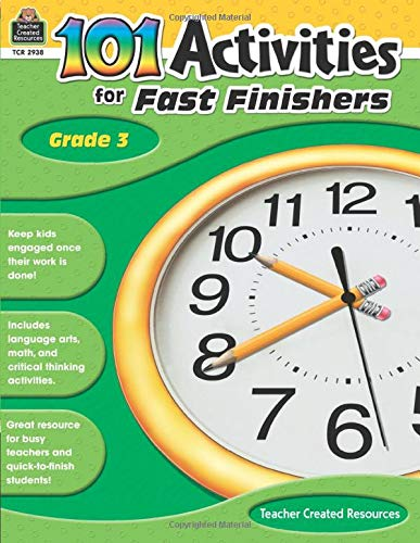 9781420629385: 101 Activities For Fast Finishers Grd 3