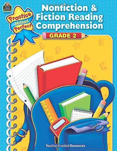 9781420630299: Nonfiction & Fiction Reading Comprehension Grade 2 (Practice Makes Perfect)