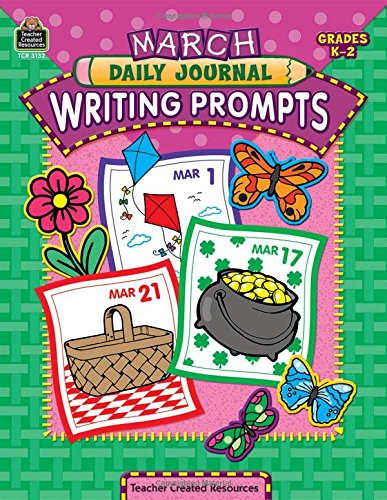 March Daily Journal Writing Prompts: Gallardo, Maria