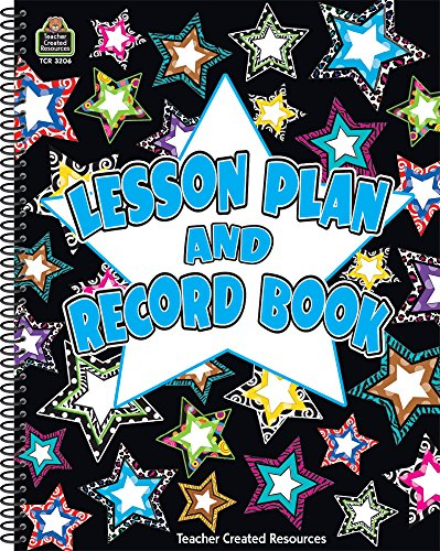 Fancy Stars Lesson Plan & Record Book: Teacher Created Resources