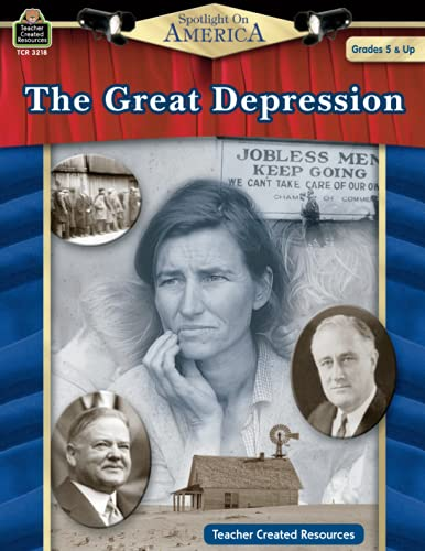 9781420632187: Spotlight on America: The Great Depression