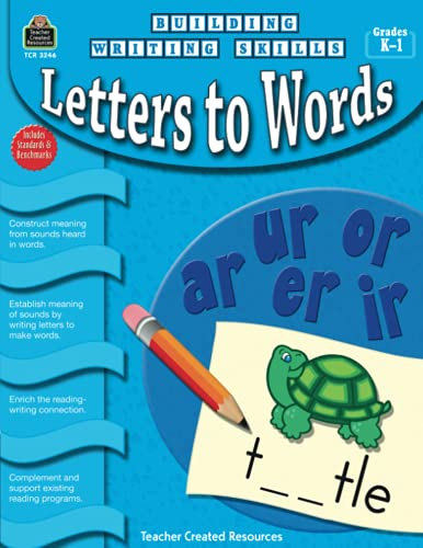 9781420632460: Building Writing Skills: Letters to Words