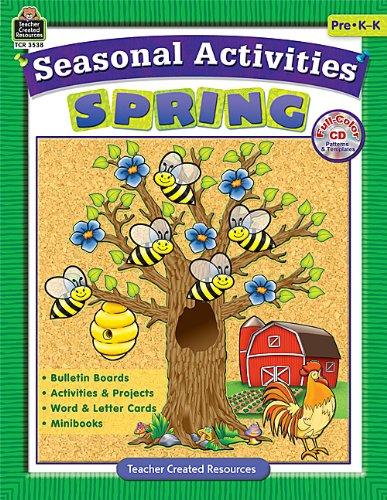 9781420635386: Seasonal Activities: Spring