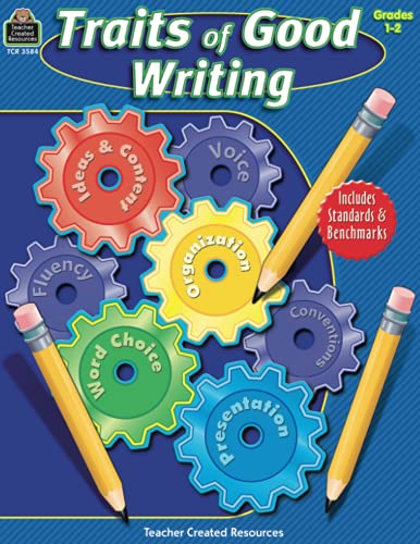 9781420635843: Traits of Good Writing, Grades 1-2 (Teacher Created Resources)