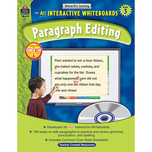 9781420636314: Interactive Learning: Paragraph Editing Grd 3