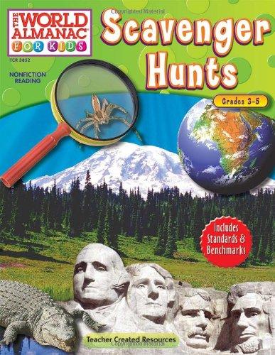 9781420638523: The World Almanac for Kids: Scavenger Hunts (World Almanac for Kids (Teacher Created))