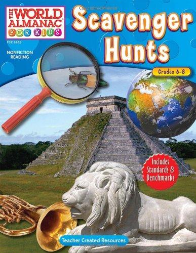 9781420638530: The World Almanac for Kids: Scavenger Hunts (World Almanac for Kids (Teacher Created))