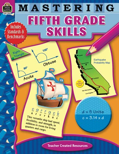 9781420639414: Mastering Fifth Grade Skills (Mastering Skills)