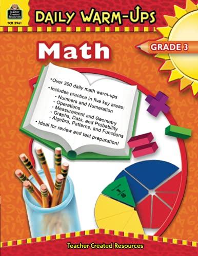 9781420639612: Daily Warm-Ups: Math, Grade 3