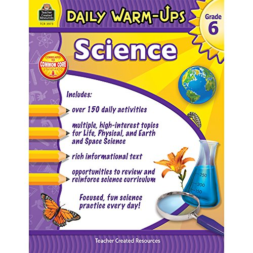 Daily Warm-Ups: Science Grade 6: Smith, Robert W