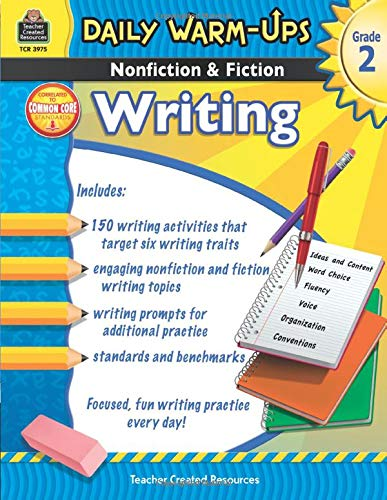 9781420639759: Daily Warm-Ups: Nonfiction & Fiction Writing Grd 2
