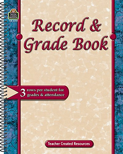 9781420647099: Record & Grade Book