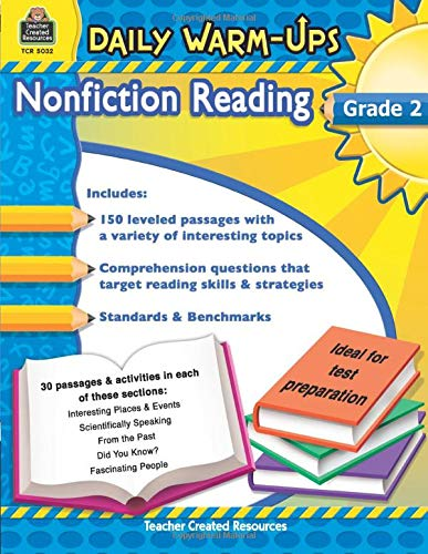 9781420650327: Teacher Created Resources Daily Warm-ups: Nonfiction Reading, Grade 2, 176 Pages (5032)