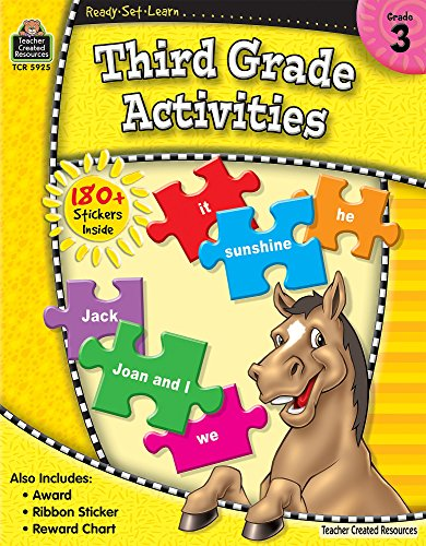 9781420659252: Ready-Set-Learn: 3rd Grade Activities
