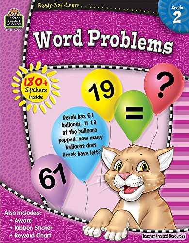 9781420659269: Ready-Set-Learn: Word Problems Grd 2