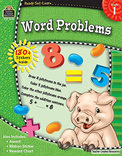 Ready-Set-Learn: Word Problems Grd 1: Teacher Created Resources