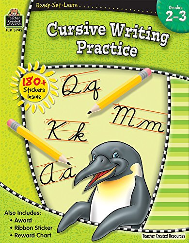 9781420659429: Ready-Set-Learn: Cursive Writing Practice Grd 2-3