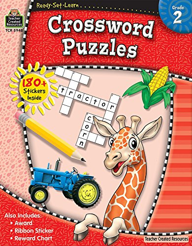 Ready-Set-Learn: Crossword Puzzles, Grade 2: Teacher Created Resources Staff