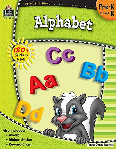 9781420659511: Ready-Set-Learn: Alphabet PreK-K