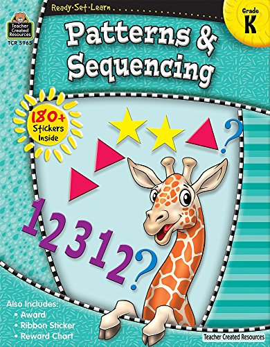 9781420659658: Ready-Set-Learn: Patterns & Sequencing Grd K