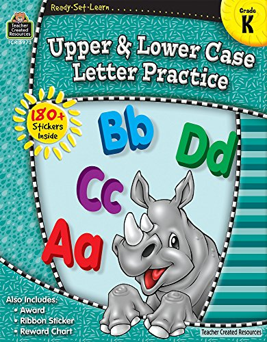 9781420659733: Ready-Set-Learn: Upper and Lower Case Grd K