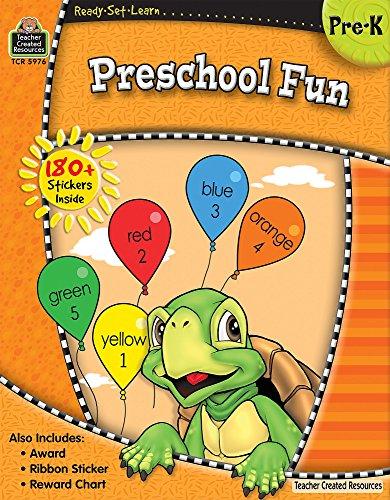 9781420659764: Ready-Set-Learn: Preschool Fun