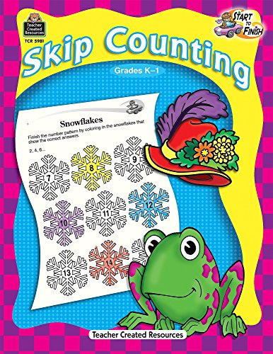 9781420659818: Start to Finish: Skip Counting, Grades K-1