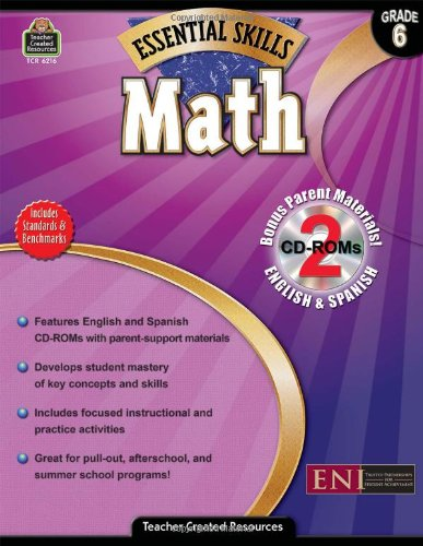 Essential Skills: Math Grd 6 (Essential Skills: Teacher Created Resources