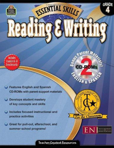 9781420662245: Essential Skills: Reading & Writing Grd 4 (Essential Skills (Teacher Created Resources))