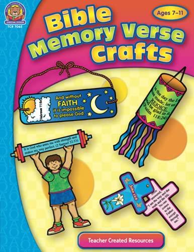 9781420670622: Bible Memory Verse Crafts (Bible Crafts)