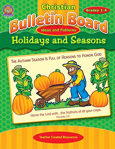 9781420670707 christian bulletin board ideas and patterns holidays