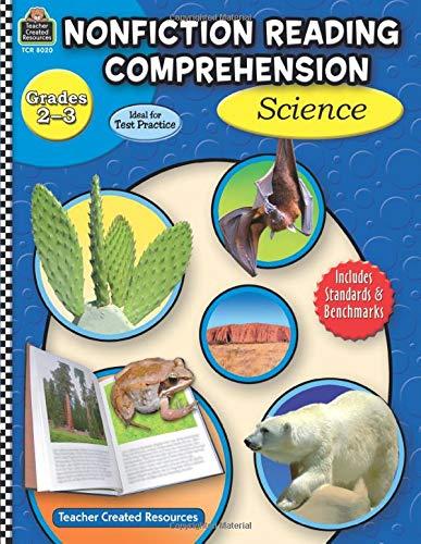 9781420680201: Nonfiction Reading Comprehension: Science, Grades 2-3