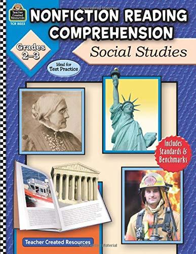 9781420680232: Nonfiction Reading Comprehension: Social Studies, Grades 2-3