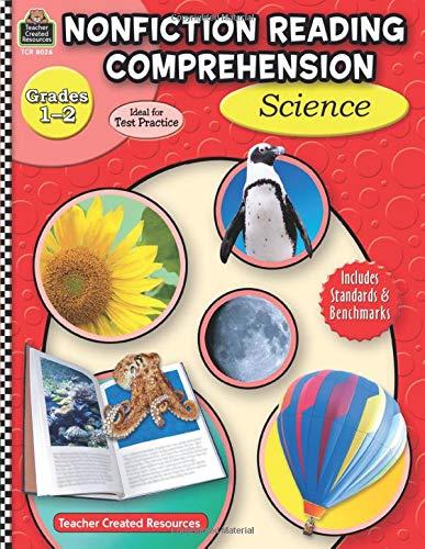 9781420680263: Nonfiction Reading Comprehension: Science, Grades 1-2