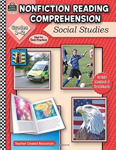 9781420680270: Nonfiction Reading Comprehension: Social Studies, Grades 1-2