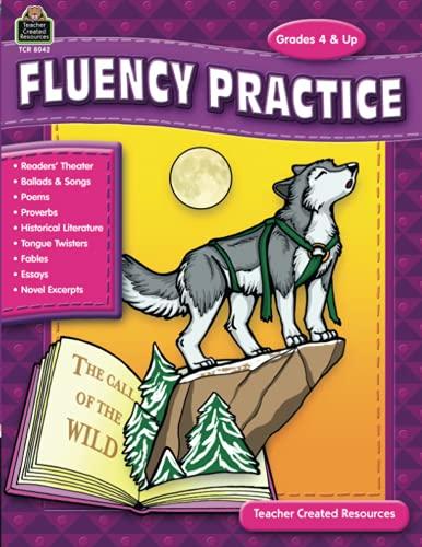 9781420680423: Fluency Practice, Grades 4 & up