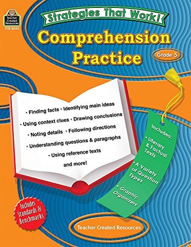 9781420680454: Strategies that Work: Comprehension Practice, Grade 5