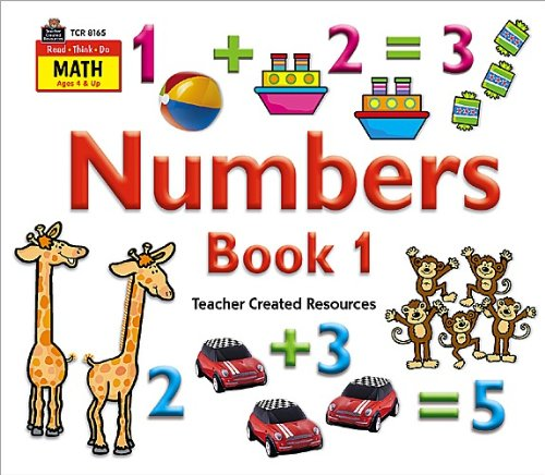 9781420681659: Read-Think-Do Math: Numbers Book 1