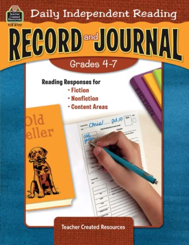 9781420687224: Daily Independent Reading Record and Journal