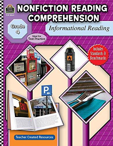 9781420688641: Nonfiction Reading Comprehension: Informational Reading, Grade 4