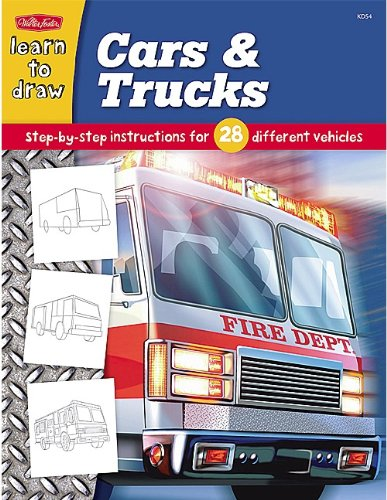 Draw and Color: Cars & Trucks (9781420689082) by Walter Foster