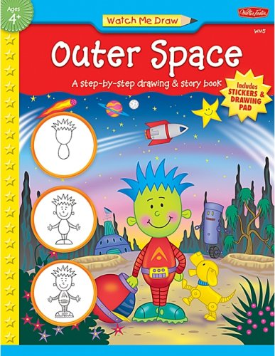 9781420689174: Watch Me Draw: Outer Space (Watch Me Draw (Teacher Created Resources))