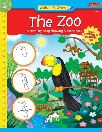 9781420689198: Watch Me Draw: The Zoo (Watch Me Draw (Teacher Created Resources))