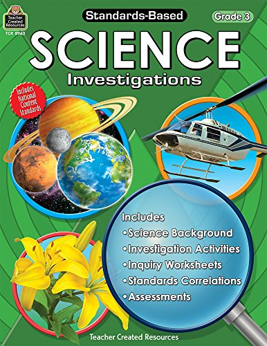Standards-Based Science Investigations, Grade 3 (9781420689631) by Robert W. Smith