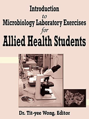 9781420833898: Introduction to Microbiology Laboratory Exercises for Allied Health Students