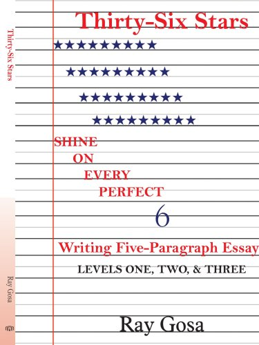 9781420835168: Thirty-Six Stars: Writing Five-Paragraph Essays