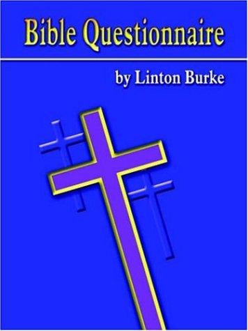9781420838312: Bible Questionnaire