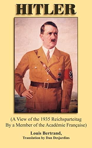 Hitler (Paperback): Translation By Dan